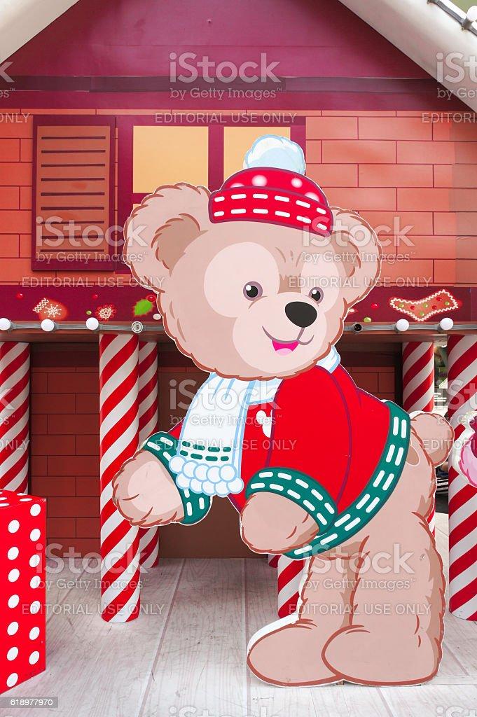 Christmas Duffy stock photo