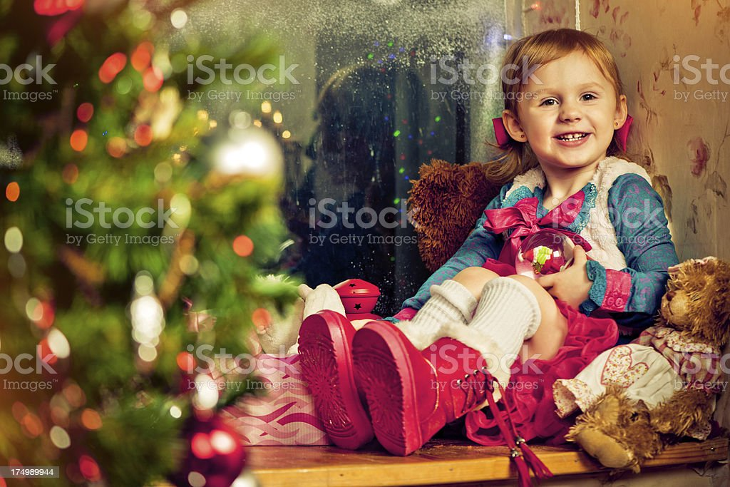 Christmas Eve royalty-free stock photo
