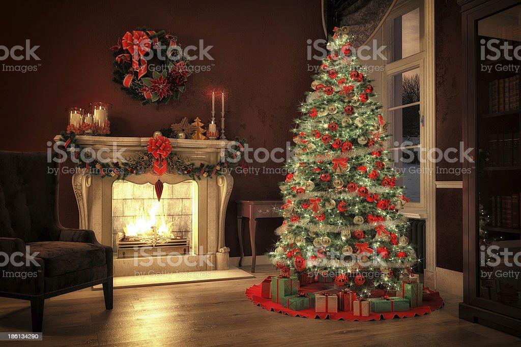 christmas eve royalty-free stock photo