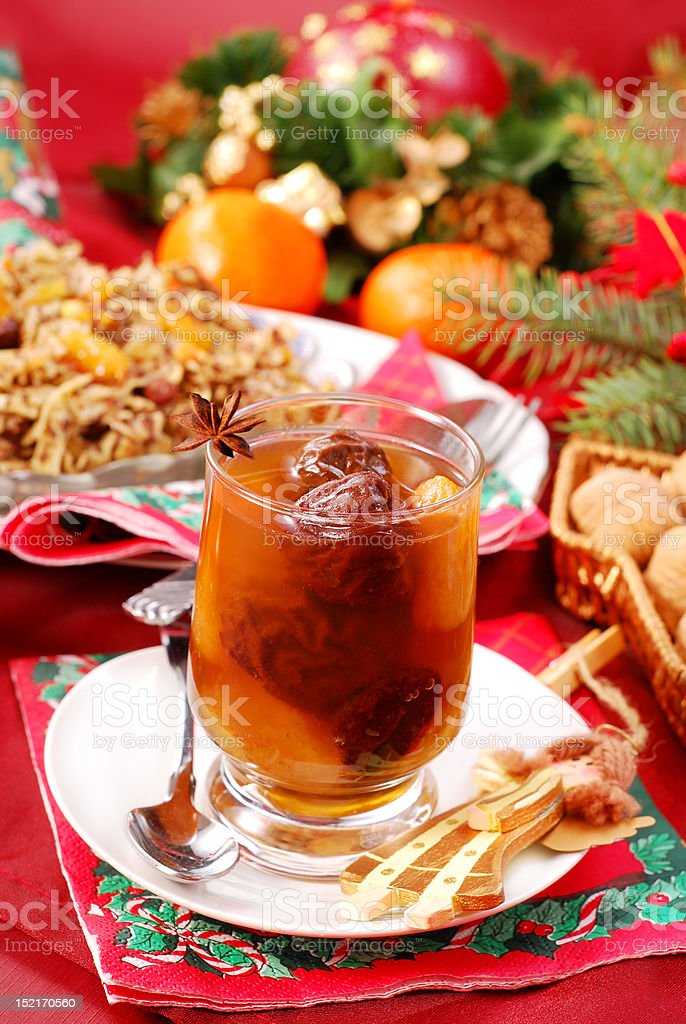 christmas eve`s sweets royalty-free stock photo