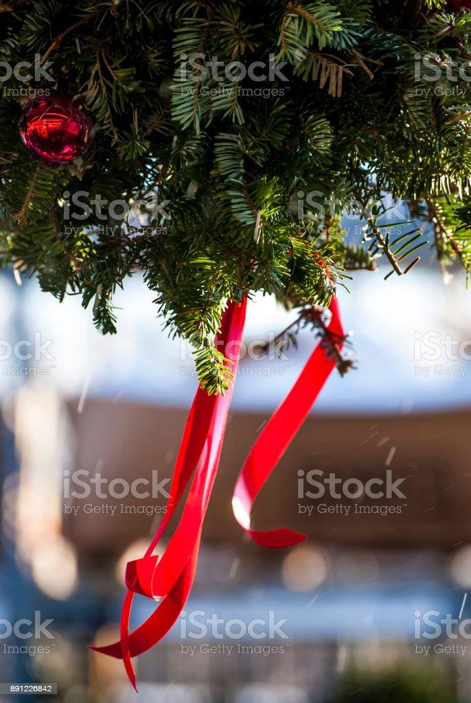 Außendekoration Weihnachten.Außendekoration Weihnachten Stockfoto Und Mehr Bilder Von Ast