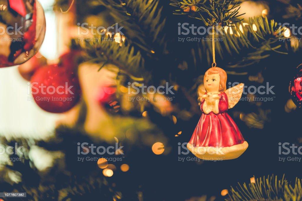 Fairy Christmas Ornaments.Christmas Fairy Christmas Along With Other Ornaments On A