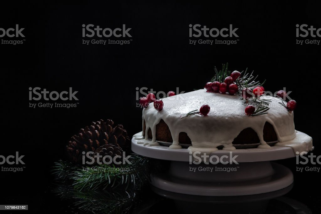 Christmas feast. Homemade cakes and pies for Christmas. A Festive...