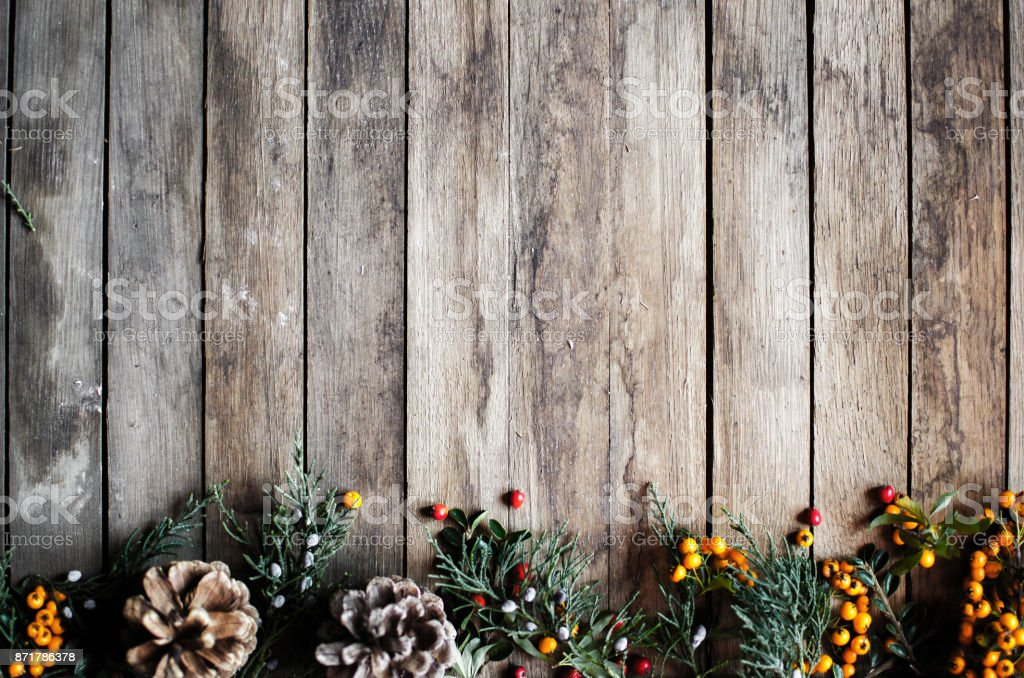 Christmas fir tree with decoration stock photo