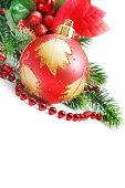 istock Christmas fir twig 186431631