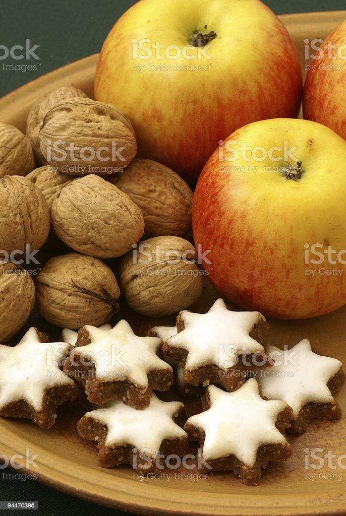 Christmas food royalty-free stock photo