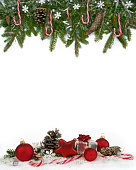 istock Christmas frame red lollypops four-fifths3 621109990