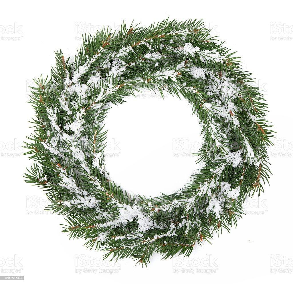 Christmas framework stock photo
