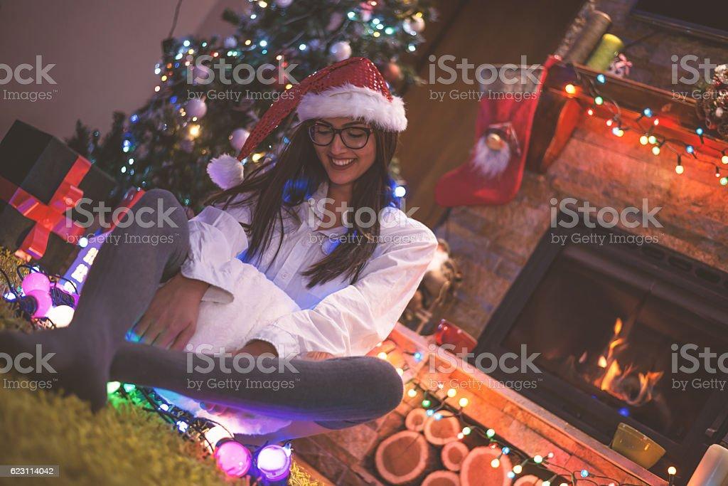 Christmas fun stock photo