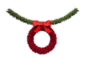 istock Christmas Garland Decoration 478099671