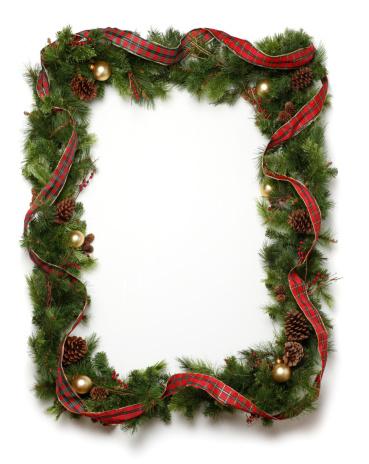 Rama Boże Narodzenie Wieniec - zdjęcia stockowe i więcej obrazów Bez ludzi