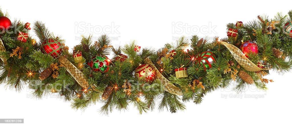 Christmas Garland royalty-free stock photo