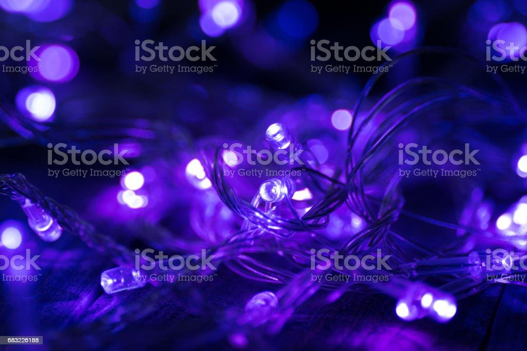 Christmas garland royalty-free 스톡 사진