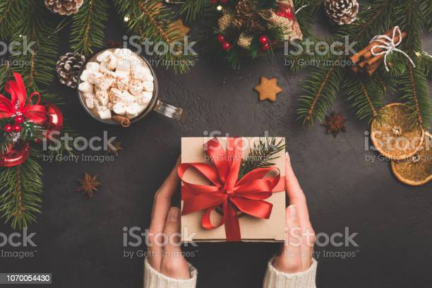 Christmas gift box in craft paper with red ribbon picture id1070054430?b=1&k=6&m=1070054430&s=612x612&h=jyoabj 4crqbuyd15 ztduflwhph4figrk4y5szy23y=