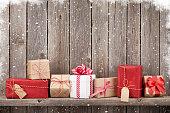 クリスマスのギフトボックス