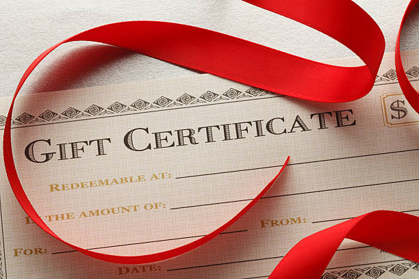 royalty free christmas gift certificate pictures images and stock
