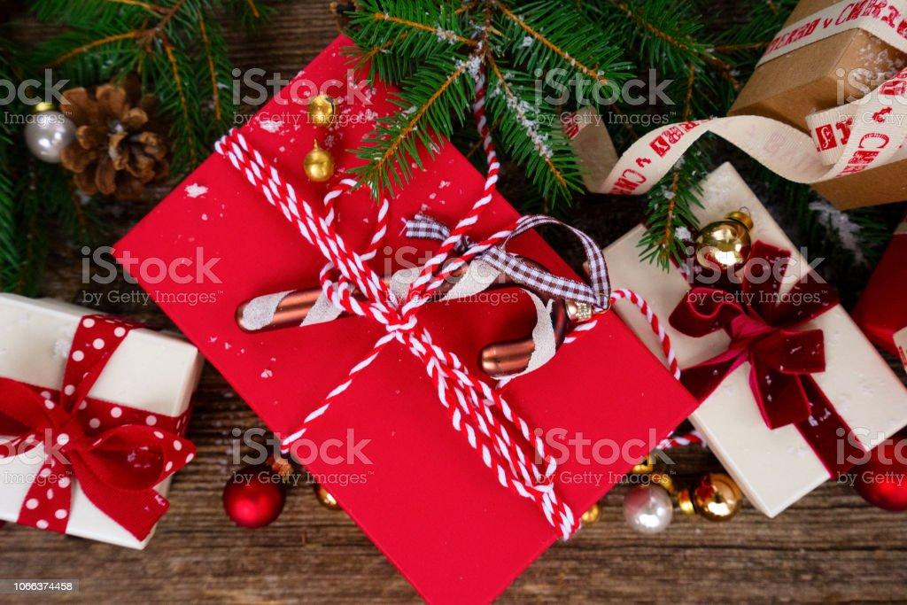 Christmas Gift Giving Images.Christmas Gift Giving Stock Photo Download Image Now Istock