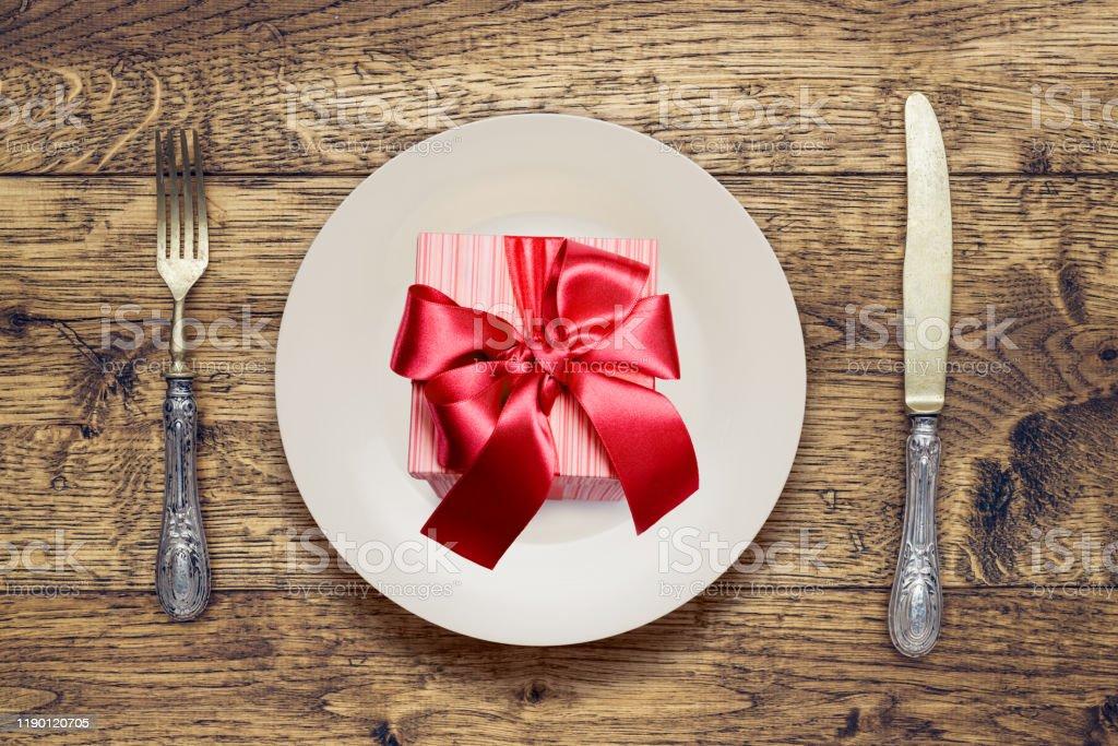 Weihnachtsgeschenk - Lizenzfrei 2019 Stock-Foto