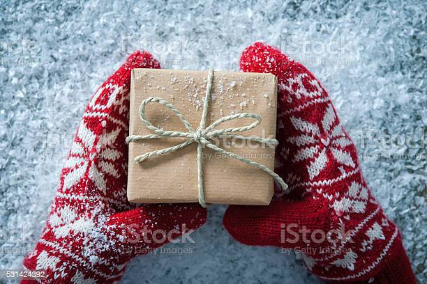 Christmas Gift Stock Photo - Download Image Now