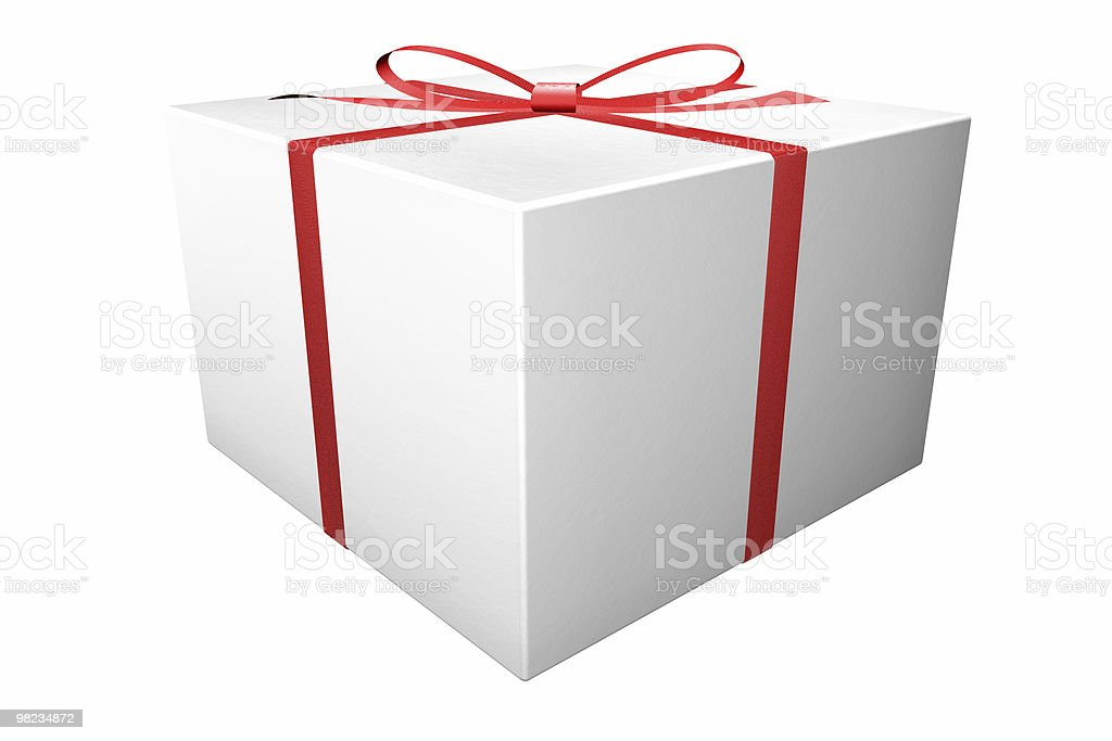 Regalo di Natale foto stock royalty-free