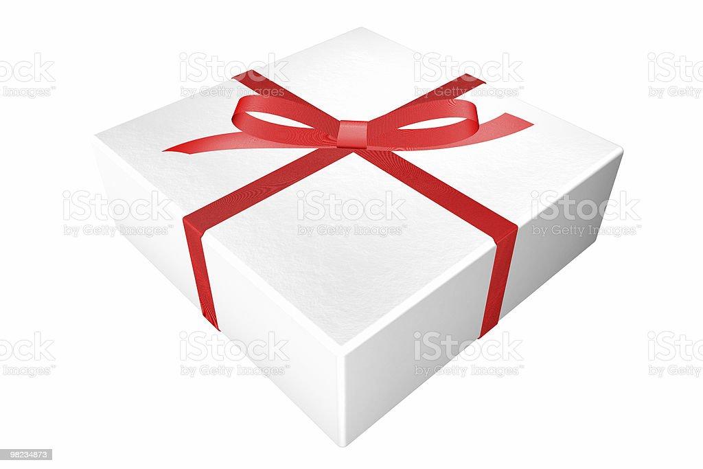 Regalo di Natale foto stock royalty-free