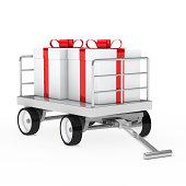 istock christmas gift trolley 177442345