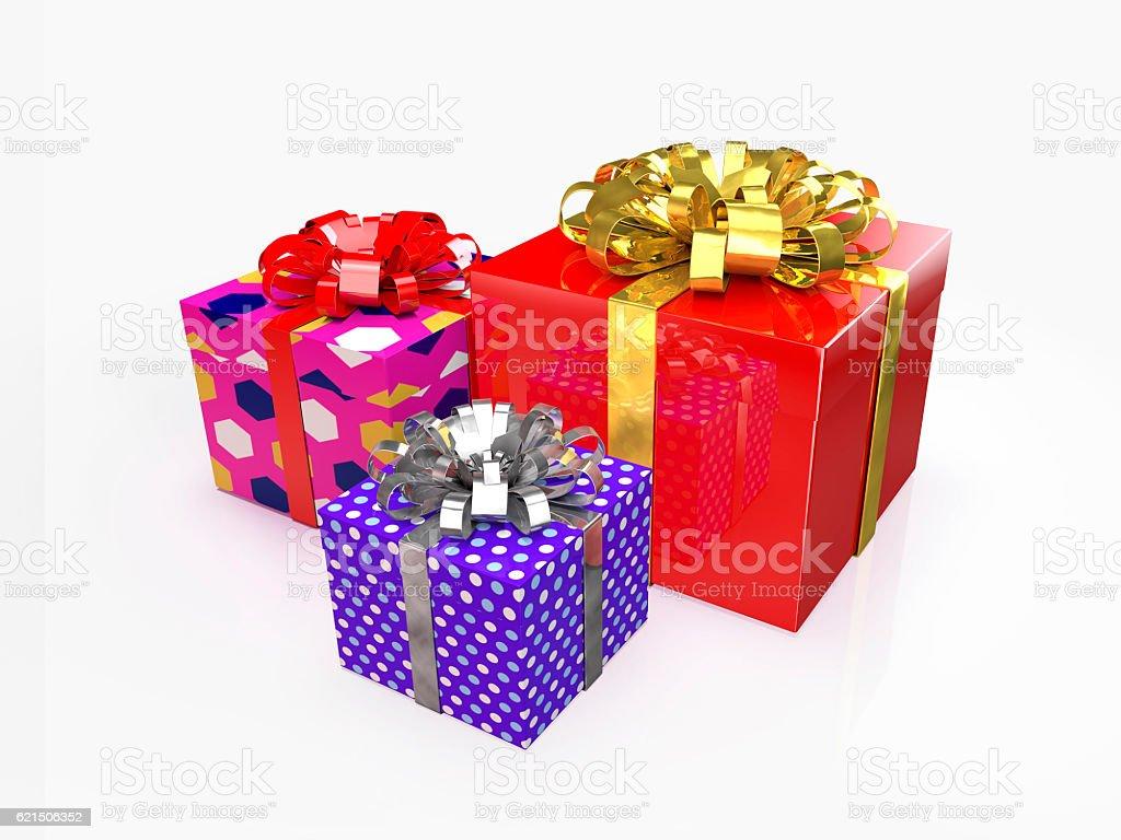 Christmas gifts 03 Lizenzfreies stock-foto
