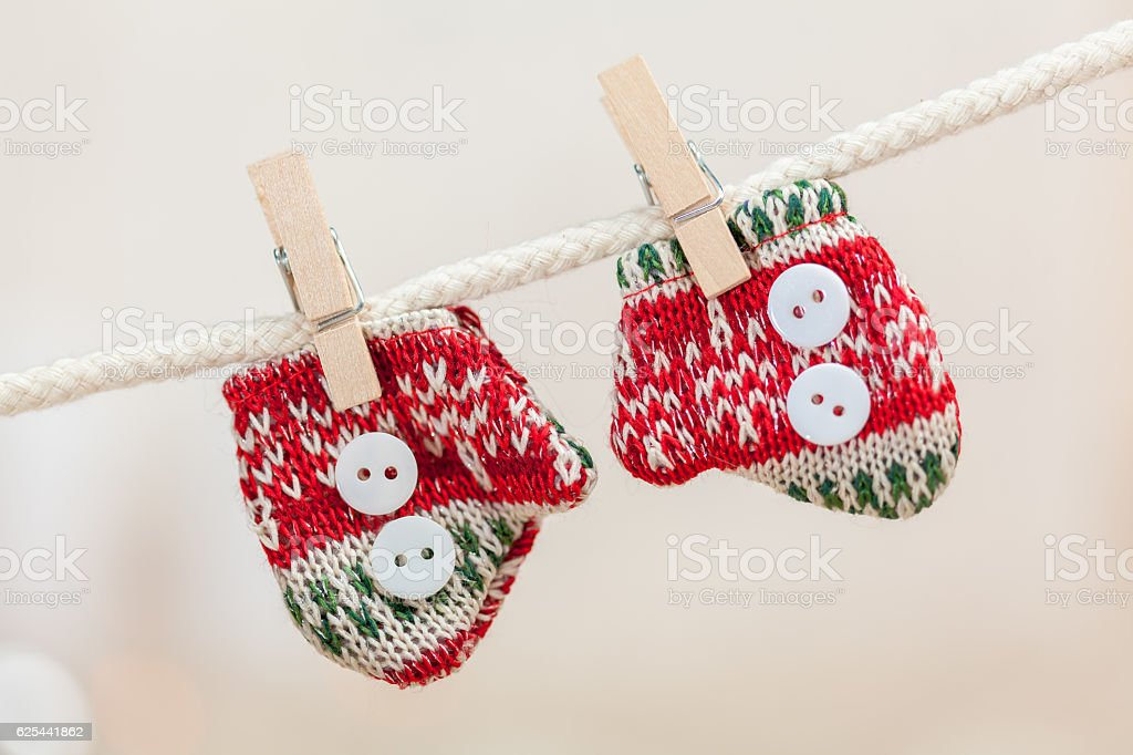 Christmas gifts and decoration stock photo