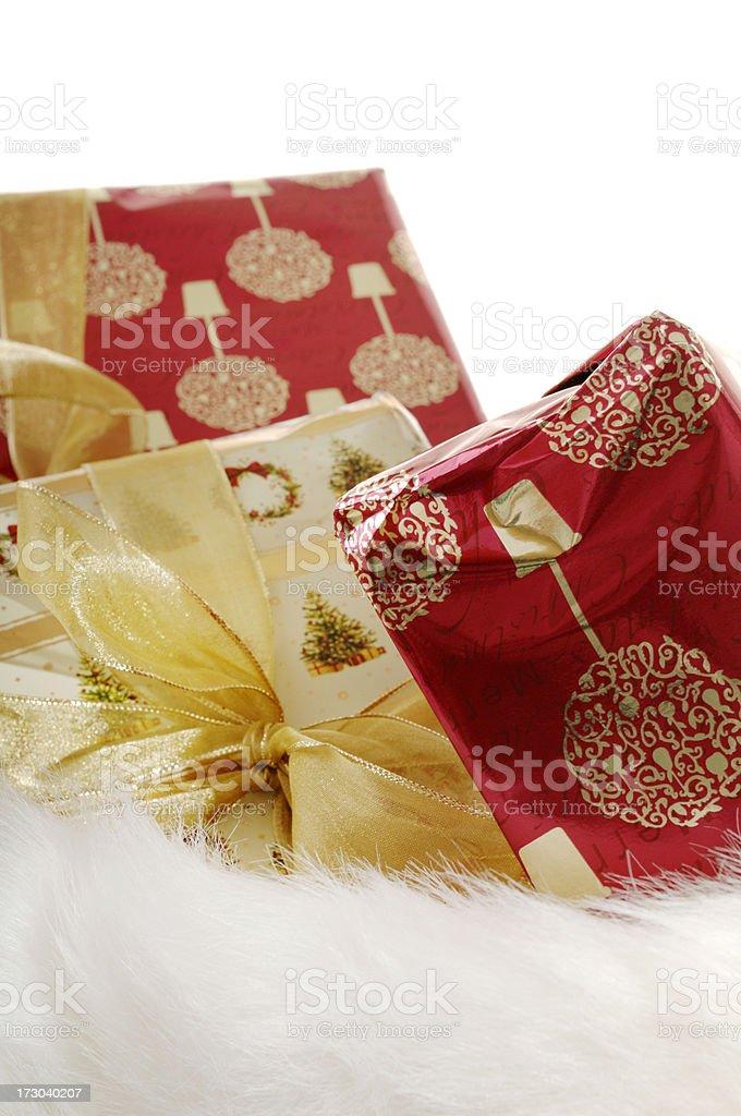 Weihnachtsgeschenke Sack.Weihnachtsgeschenke Bei Santas Sack Stockfoto Und Mehr Bilder Von