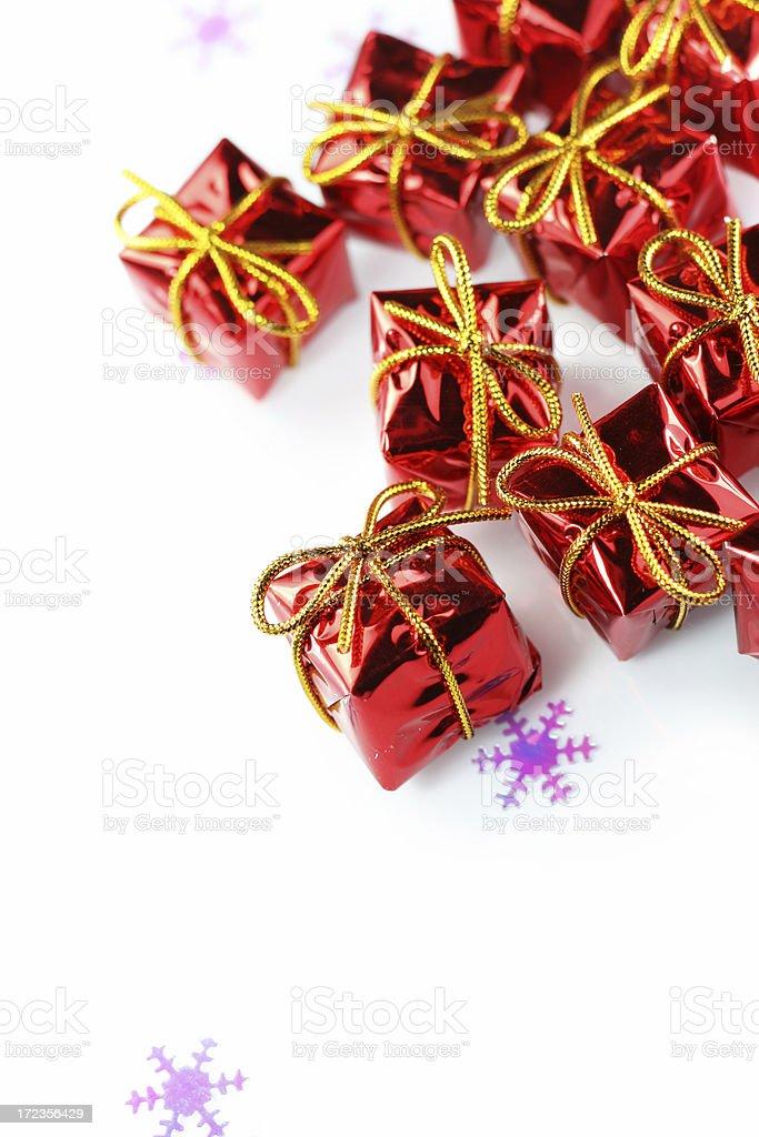 Regalos de Navidad foto de stock libre de derechos