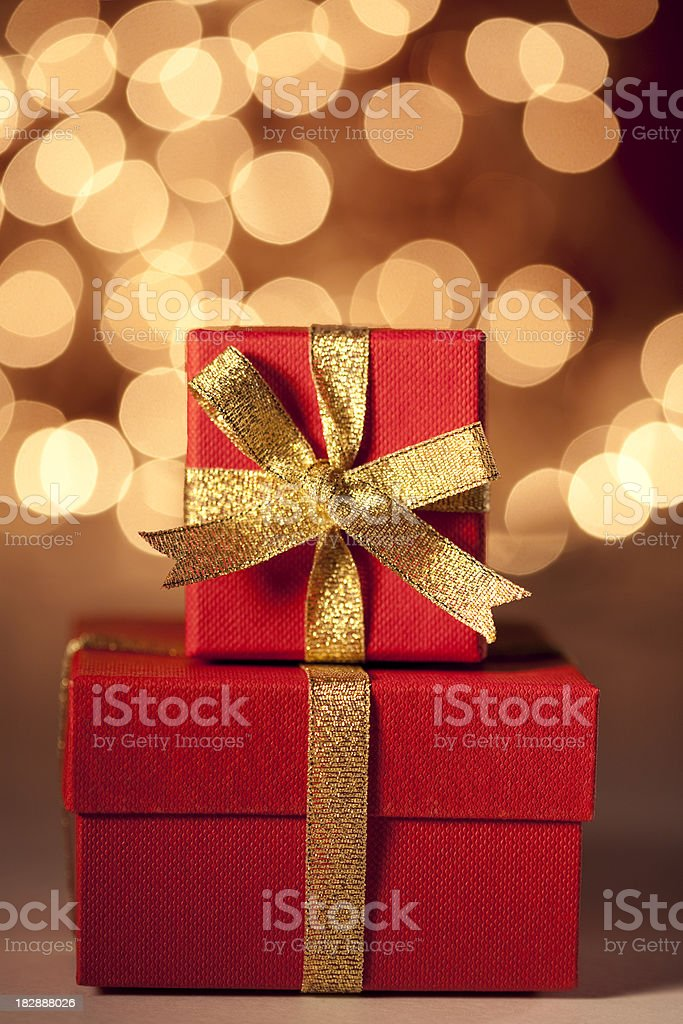 Christmas Gifts royalty-free stock photo