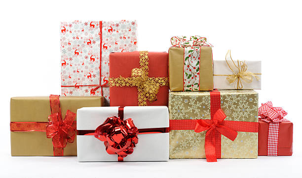 Royalty free christmas present pictures images and stock photos christmas gifts stock photo negle Images