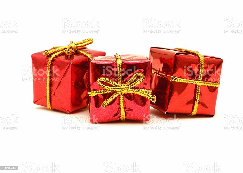 Christmas Gifts royaltyfri bildbanksbilder