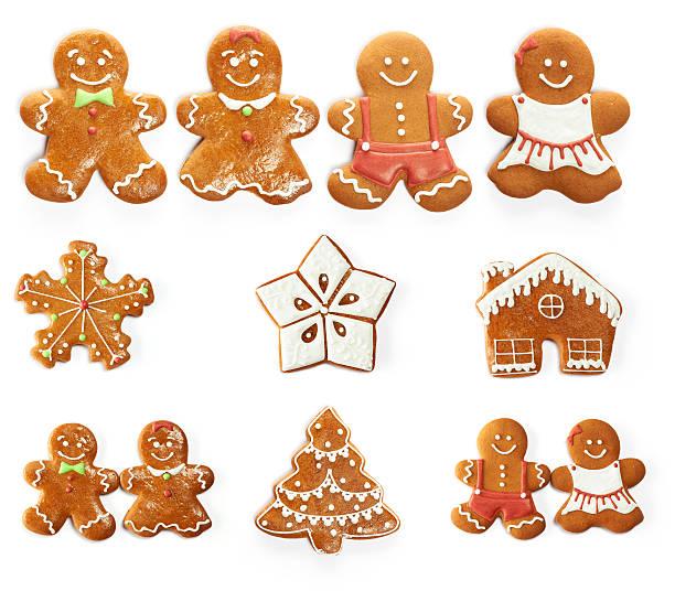 galleta de jengibre de navidad - gingerbread man fotografías e imágenes de stock