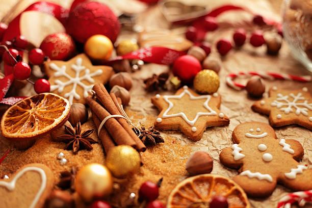 Weihnachten gingerbreads Backen – Foto