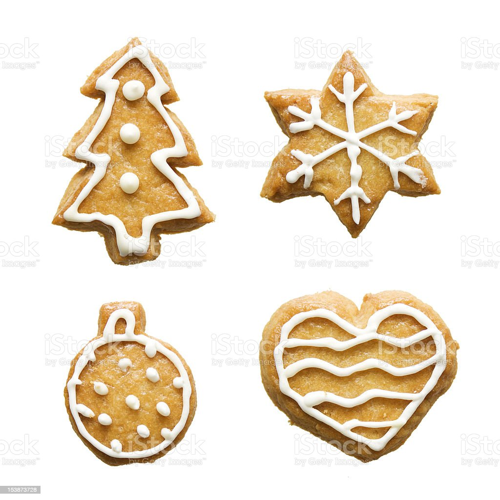 christmas gingerbreads royalty-free stock photo
