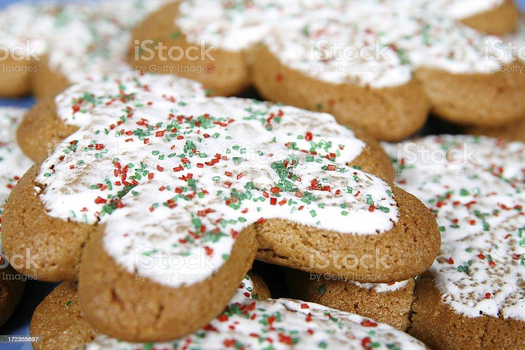 Navidad Gingerbreads foto de stock libre de derechos