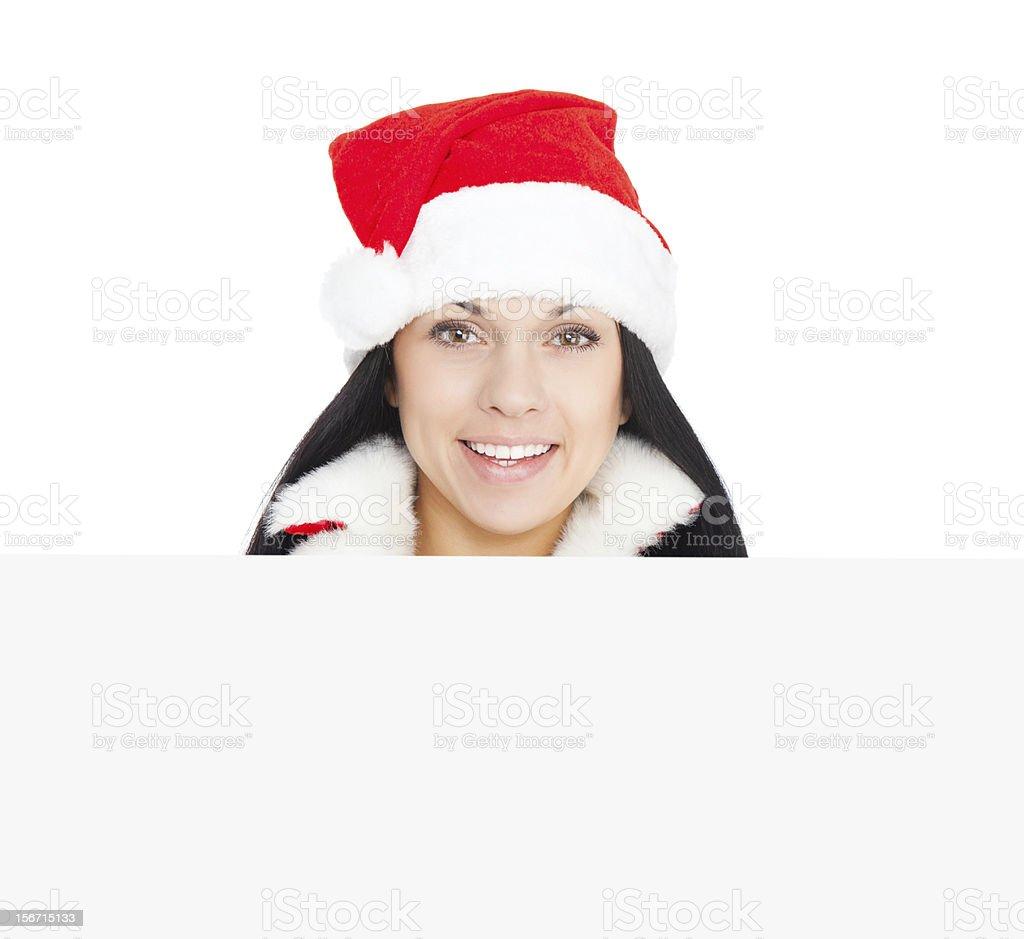 christmas girl royalty-free stock photo