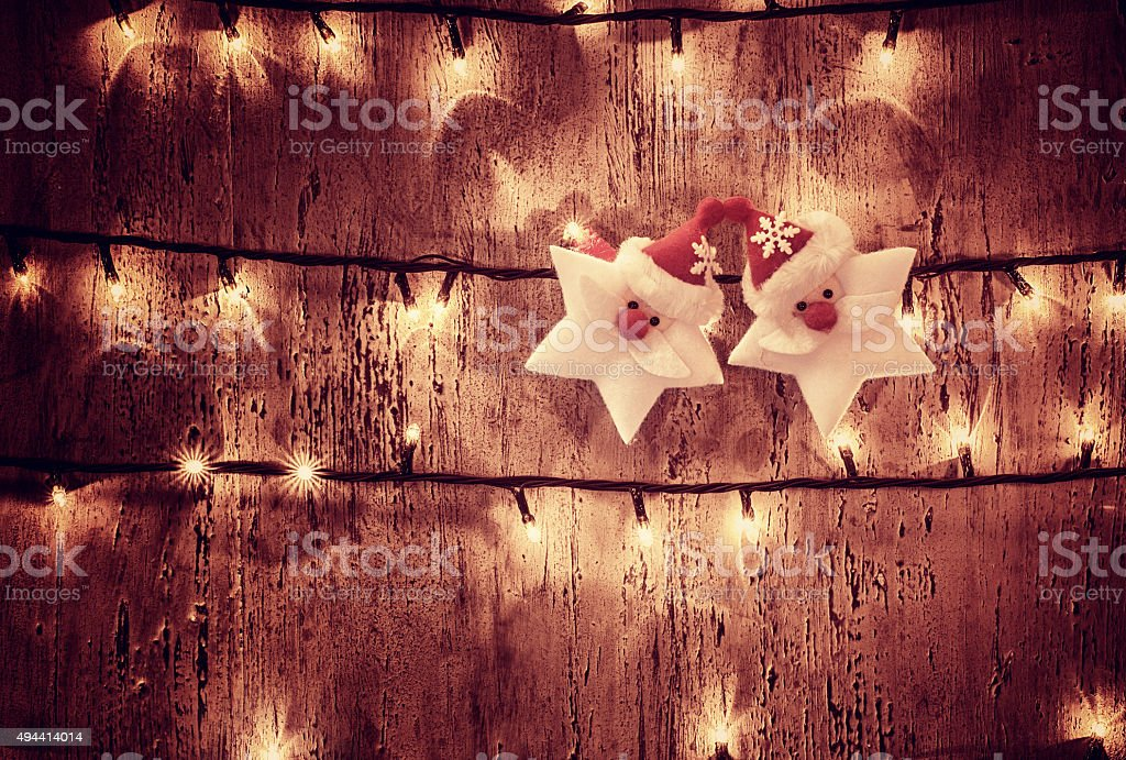 Christmas glowing background stock photo