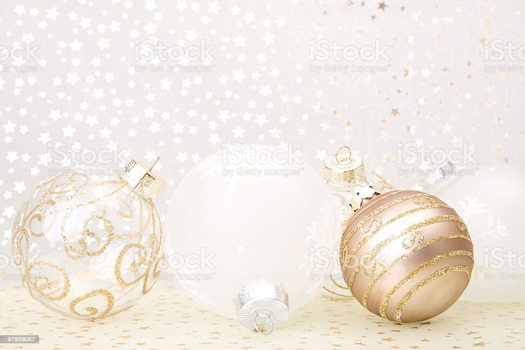 christmas golden background royalty-free stock photo