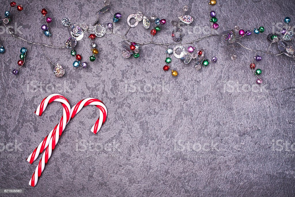 Christmas greeting card. Noel festive background. New year symbol Lizenzfreies stock-foto