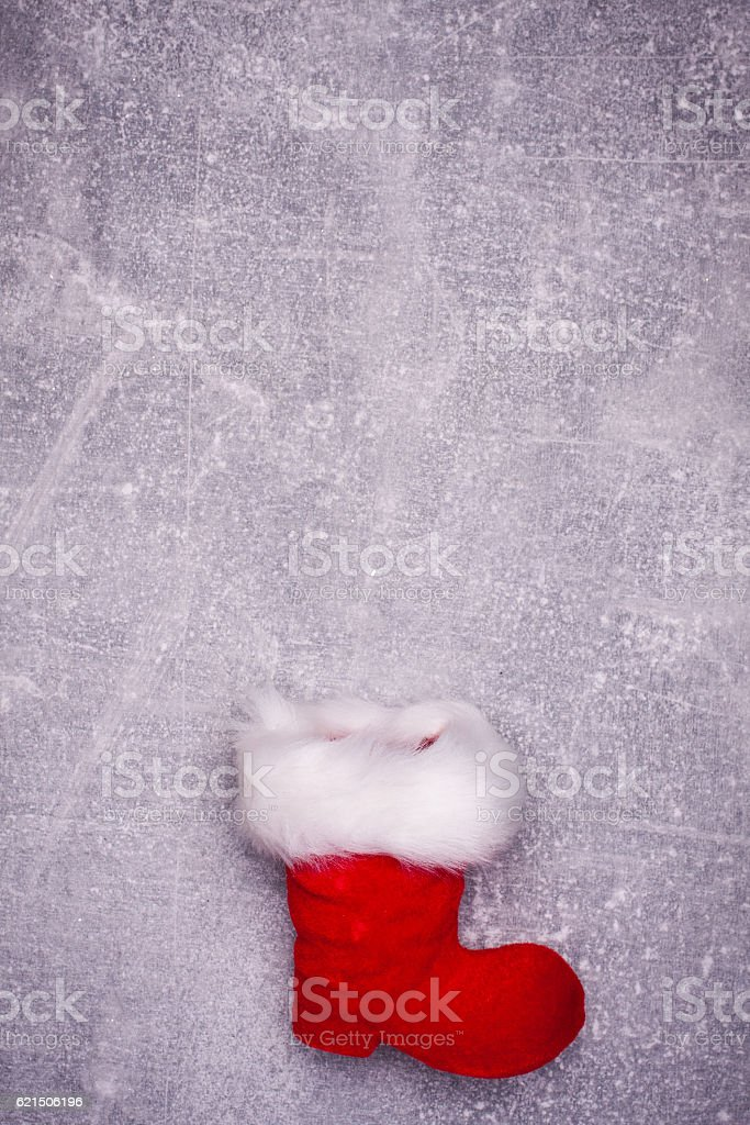 Christmas greeting card. Noel festive background. New year symbol Lizenzfreies stock-foto