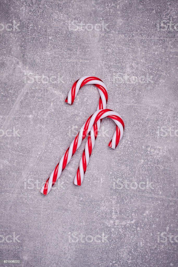 Christmas greeting card. Noel festive background. New year symbol foto stock royalty-free