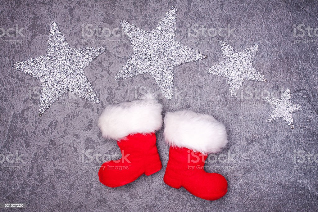 Christmas greeting card. Noel festive background. New year symbol photo libre de droits