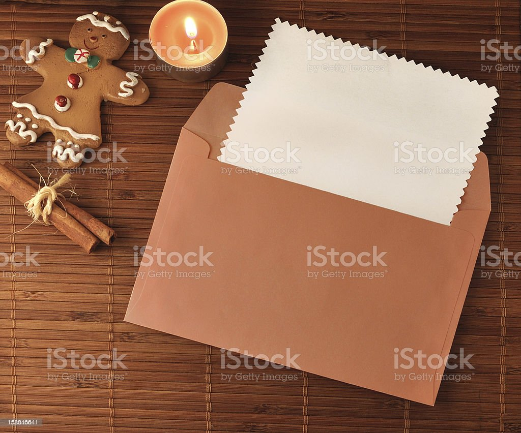 Christmas greeting card royalty-free stock photo