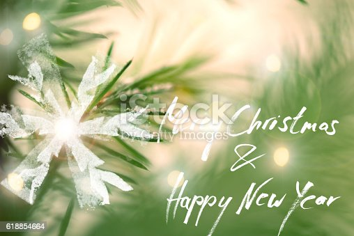 istock Christmas Greeting Card With Handdrawing Eelements 618854664