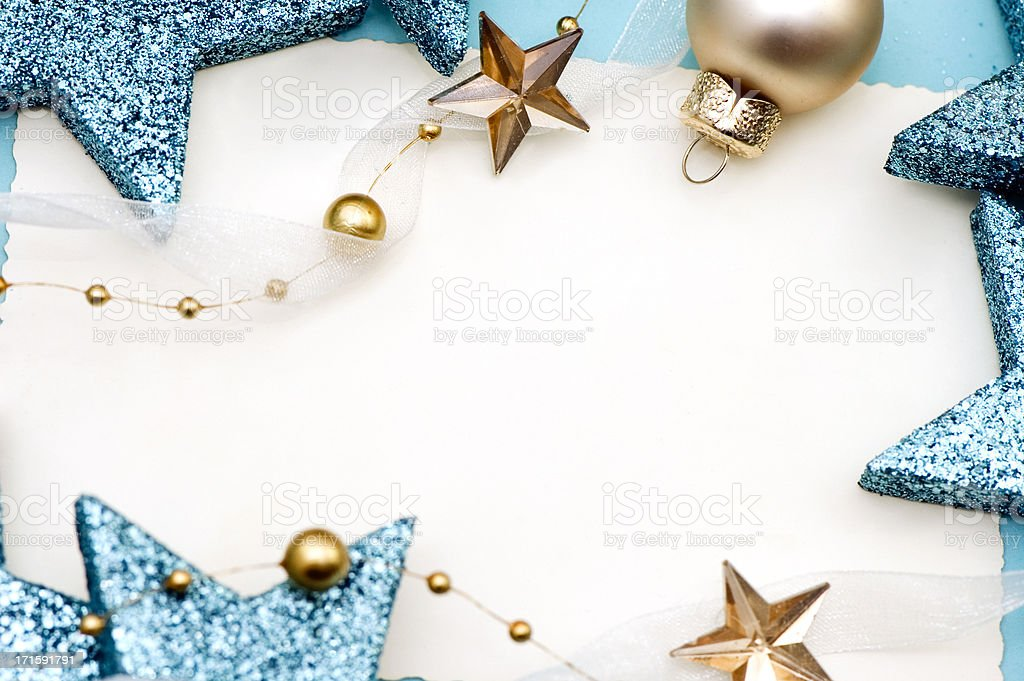 Christmas Greetings Card royalty-free stock photo