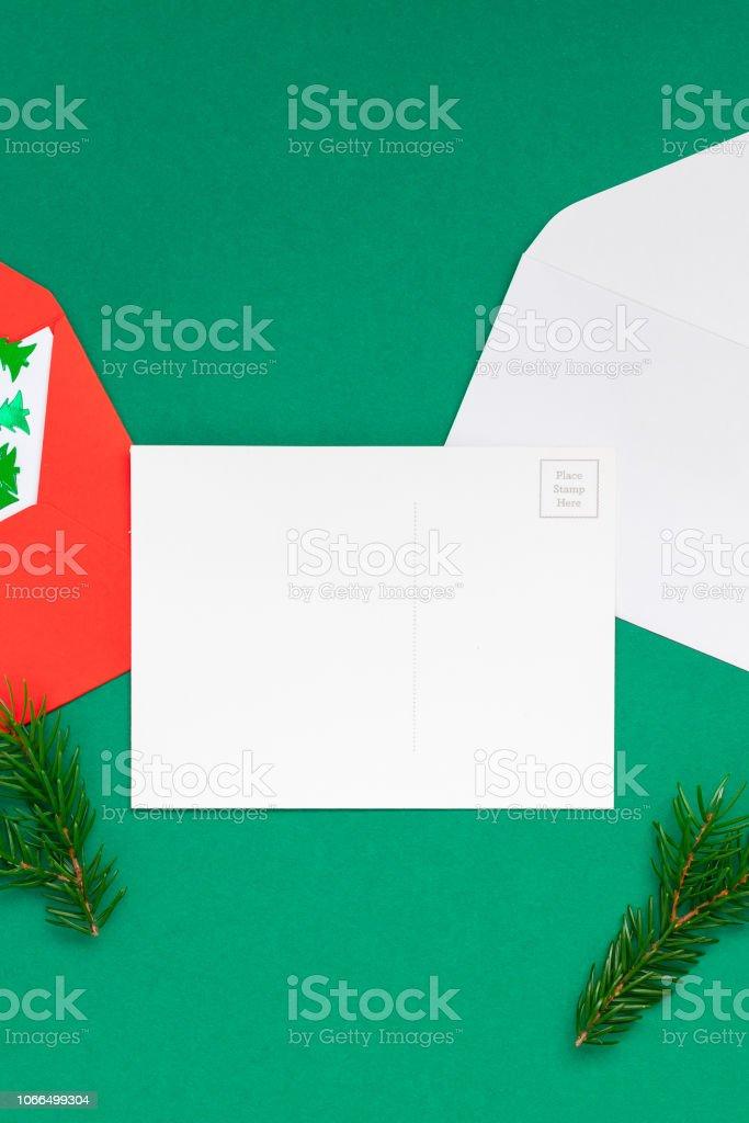Christmas Greetings Letter.Christmas Greetings Letter Mockup Stock Photo Download