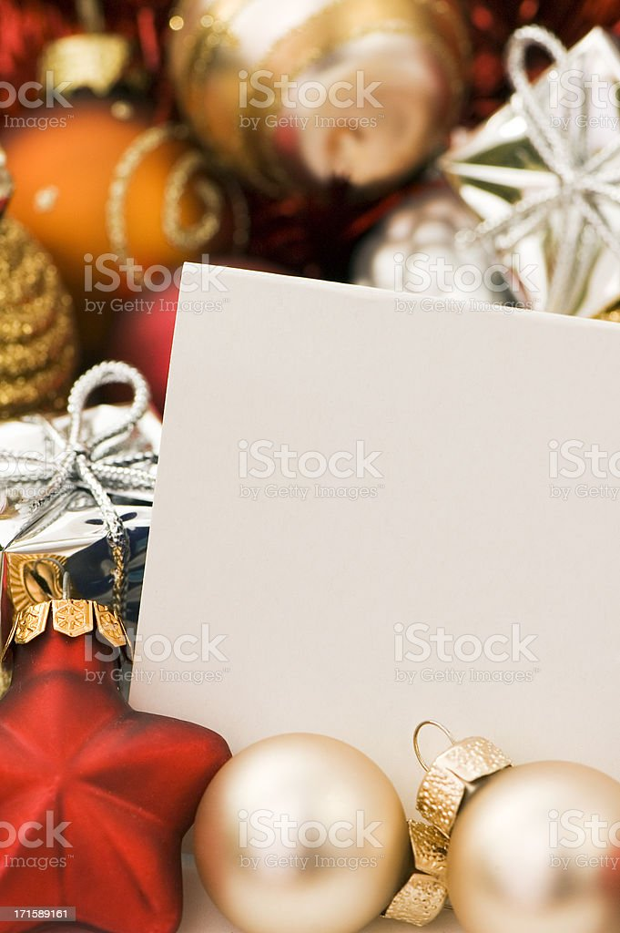 Christmas Greetings royalty-free stock photo