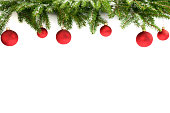 istock Christmas hanging decoration 1 1063019476